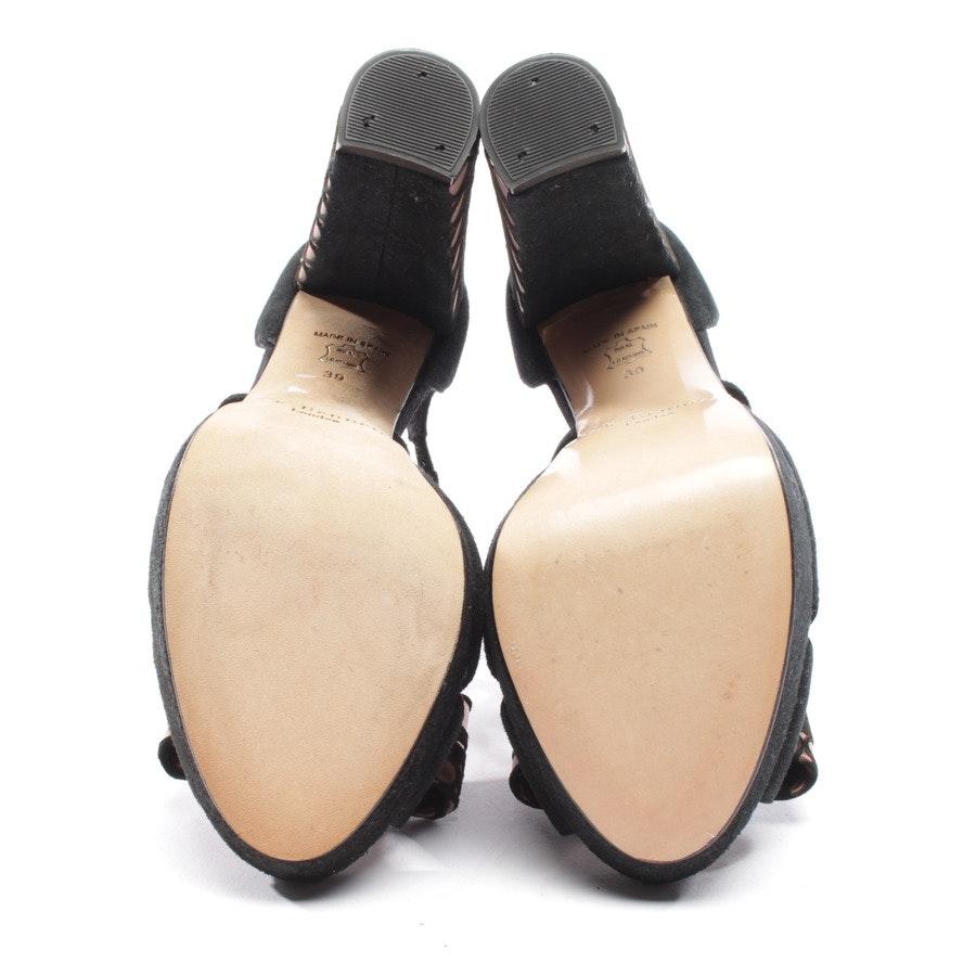 Sandaletten von L.K. Bennett in Schwarz Gr. D 39