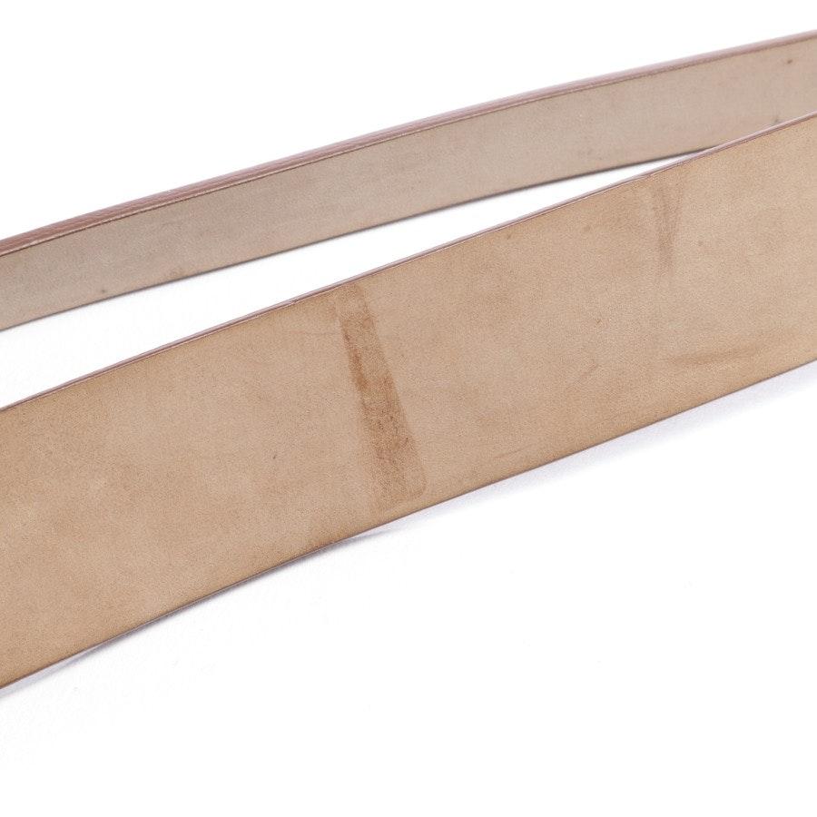 Gürtel von Burberry in Cognac Gr. 80 cm