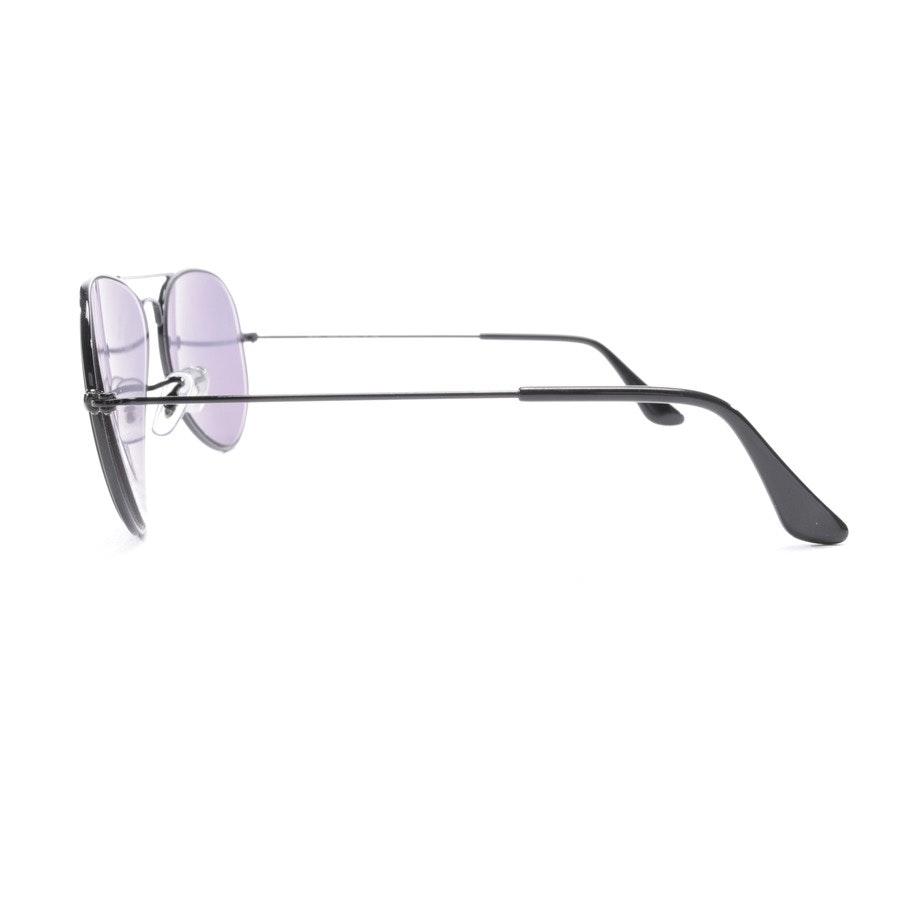 eyeglass frame from Ray Ban in black - aviator large metal