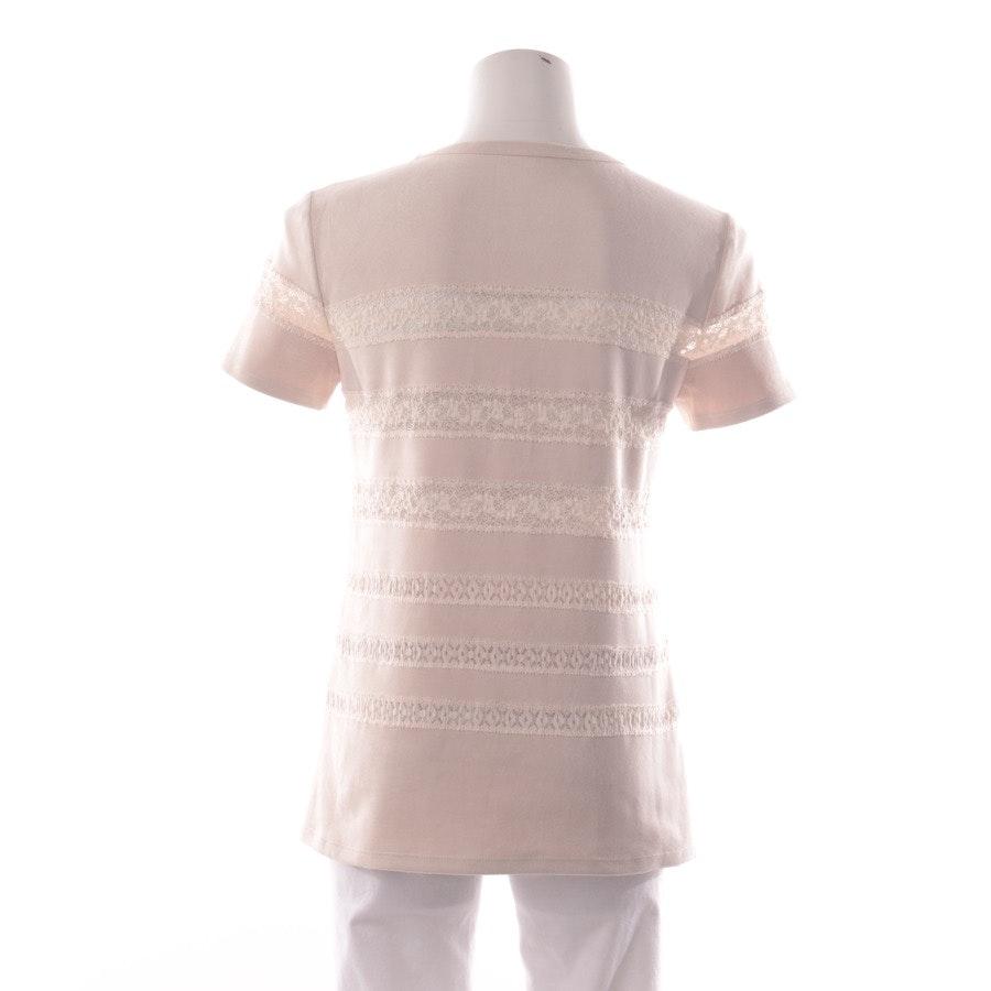 Shirt von Marc Cain in Zartrosa und Weiß Gr. S