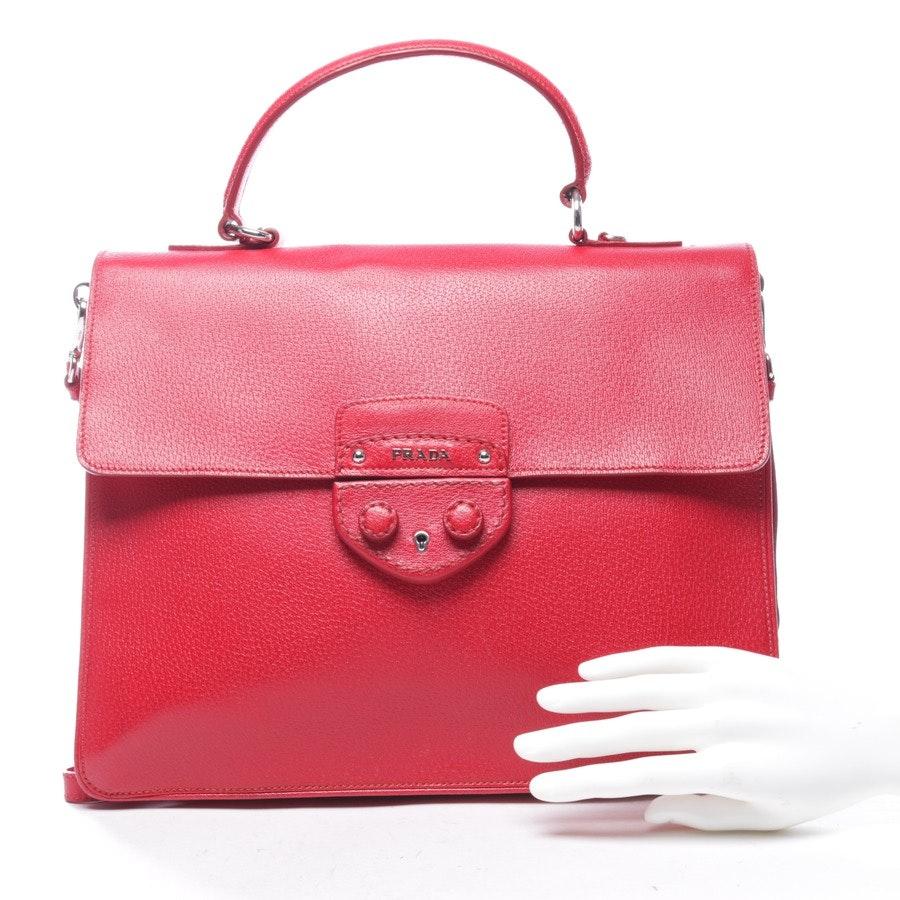 Aktentasche von Prada in Rot