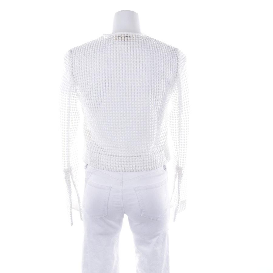 Jacke von Diane von Furstenberg in Weiß Gr. 34 / 4