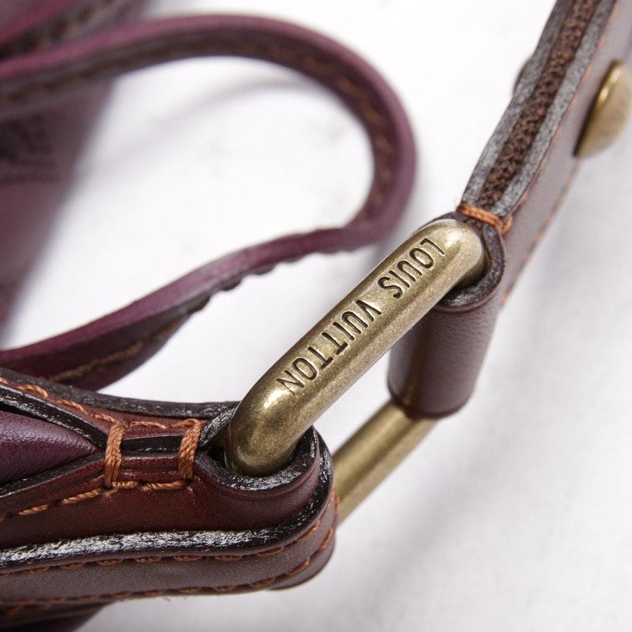 Schultertasche von Louis Vuitton in Aubergine - Mahina GM