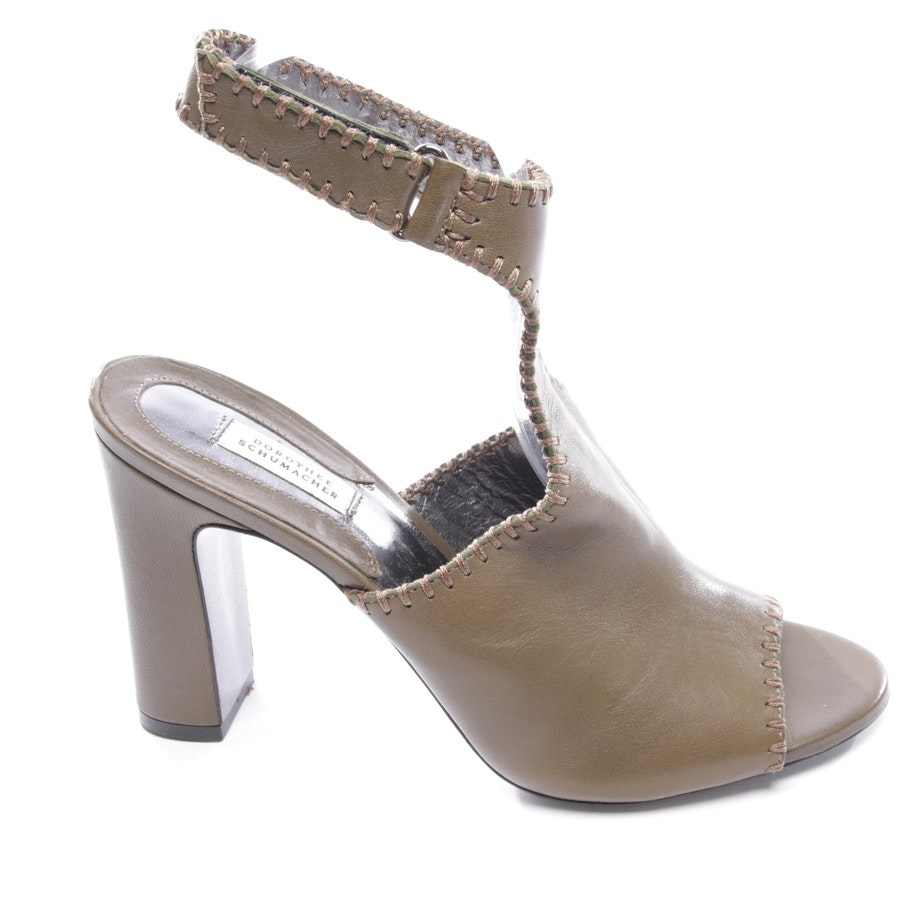 heeled sandals from Dorothee Schumacher in taupe size D 39,5 - new