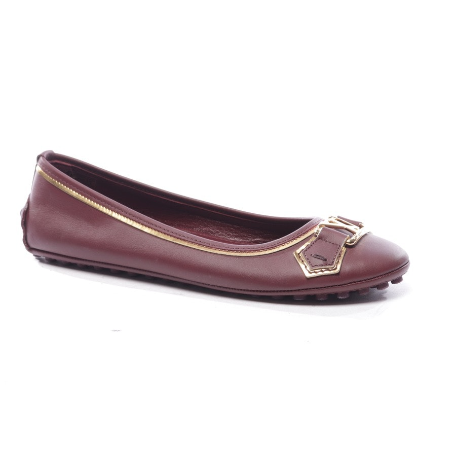 Ballerinas von Louis Vuitton in Bordeaux Gr. EUR 36