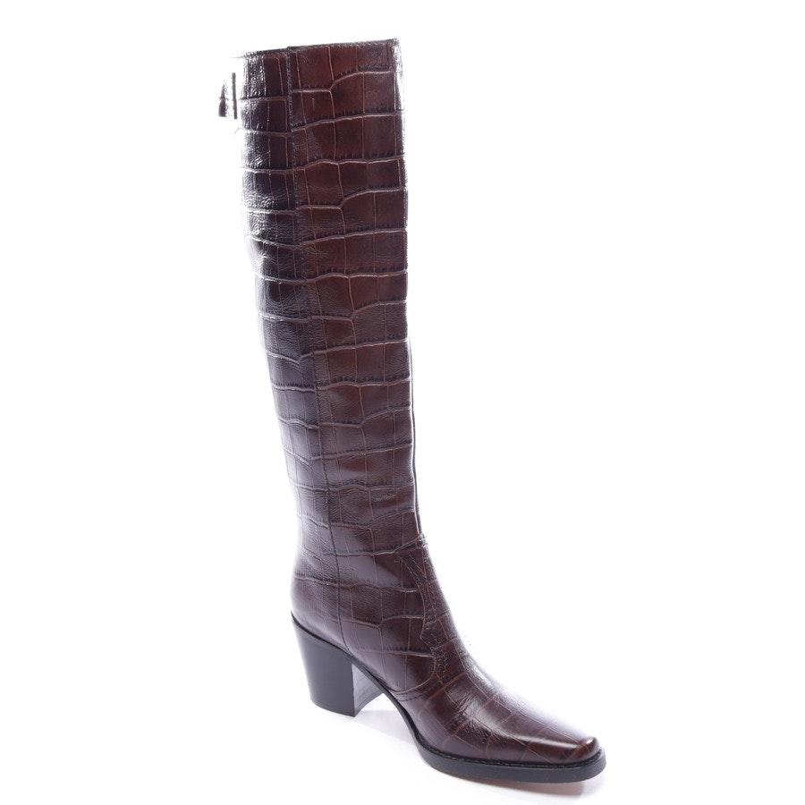 Stiefel von Ganni in Braun Gr. EUR 37