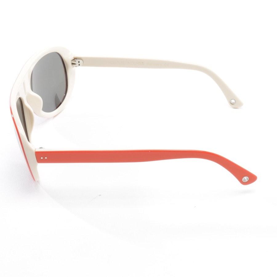 Sonnenbrille von Moncler in Orange und Beige - MC51904