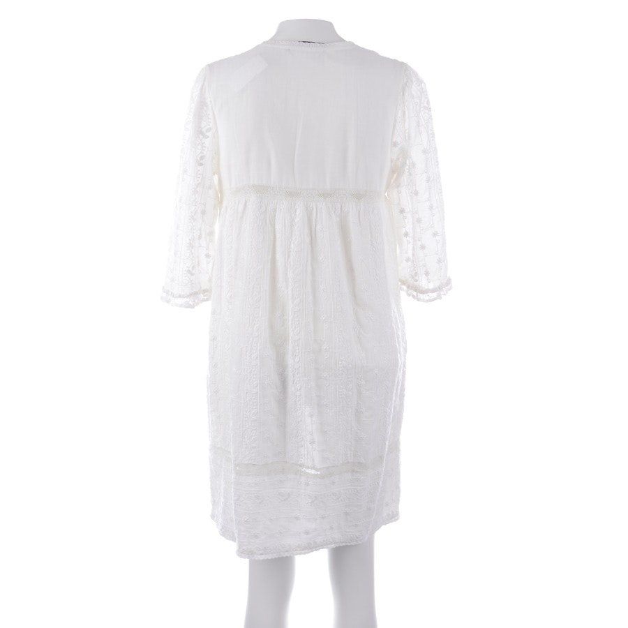 Kleid von Twin Set in Wollweiß Gr. L