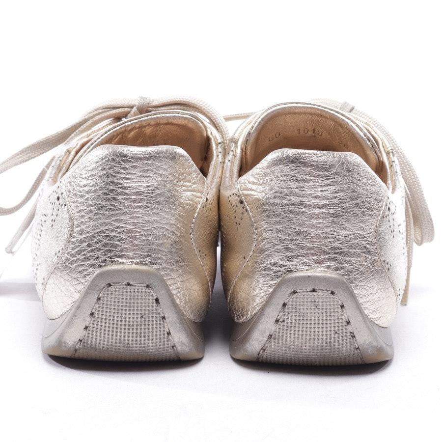 Sneaker von Louis Vuitton in Gold Gr. D 36