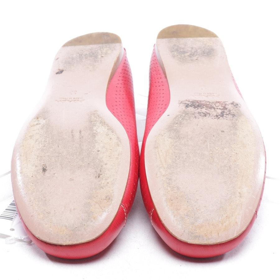 Ballerinas von Prada in Rot Gr. D 37