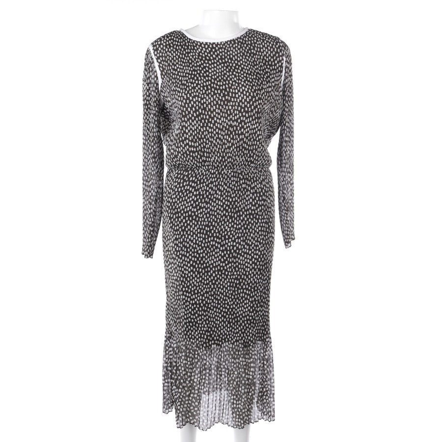 dress from Max Mara in brown and white size S