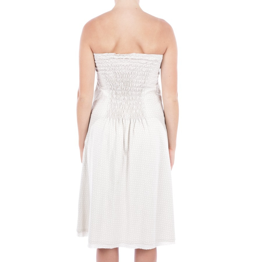 dress from Closed in beige and white size DE 42
