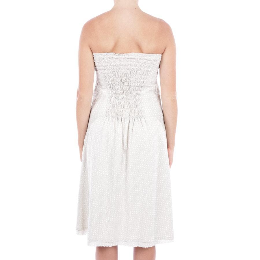 Kleid von Closed in Beige und Weiß Gr. DE 36 IT 42