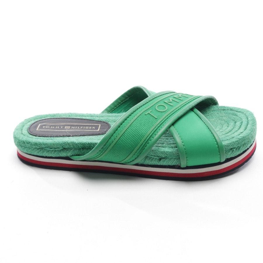 Sandalen von Tommy Hilfiger in Grün Gr. D 36