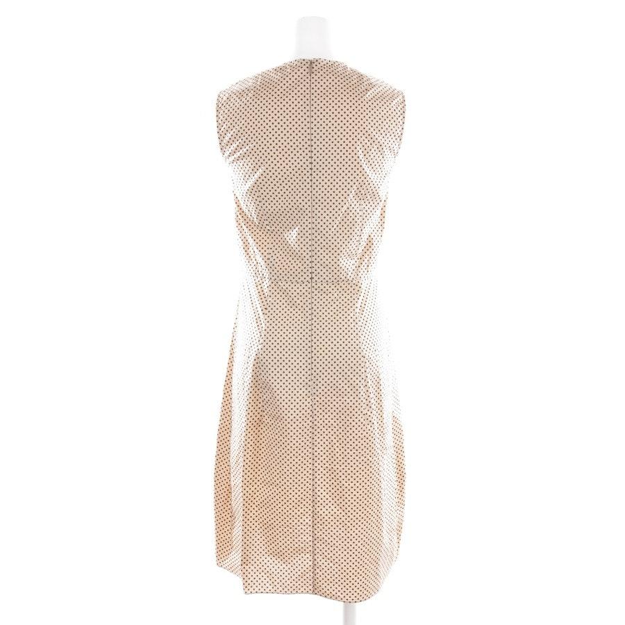 Sommerkleid von Marni in Apricot und Schwarz Gr. 36 IT 42