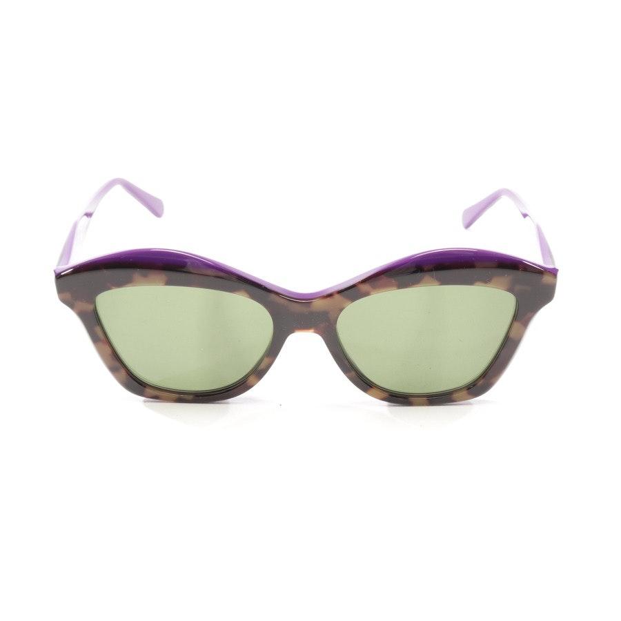 Sonnenbrille von Salvatore Ferragamo in Lila und Braun