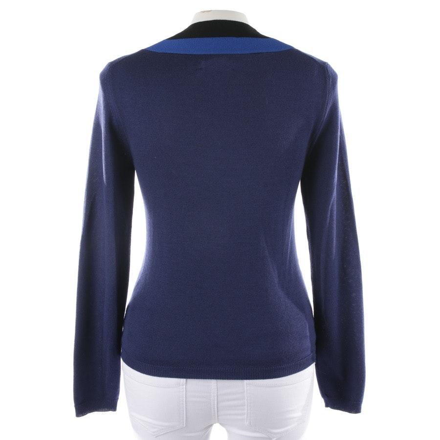 Wollpullover von Altuzarra in Blau und Schwarz Gr. M