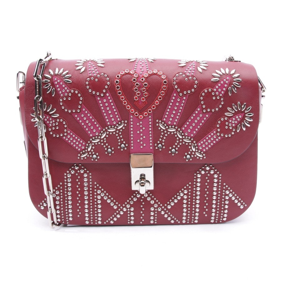 shoulder bag from Valentino in bordeaux