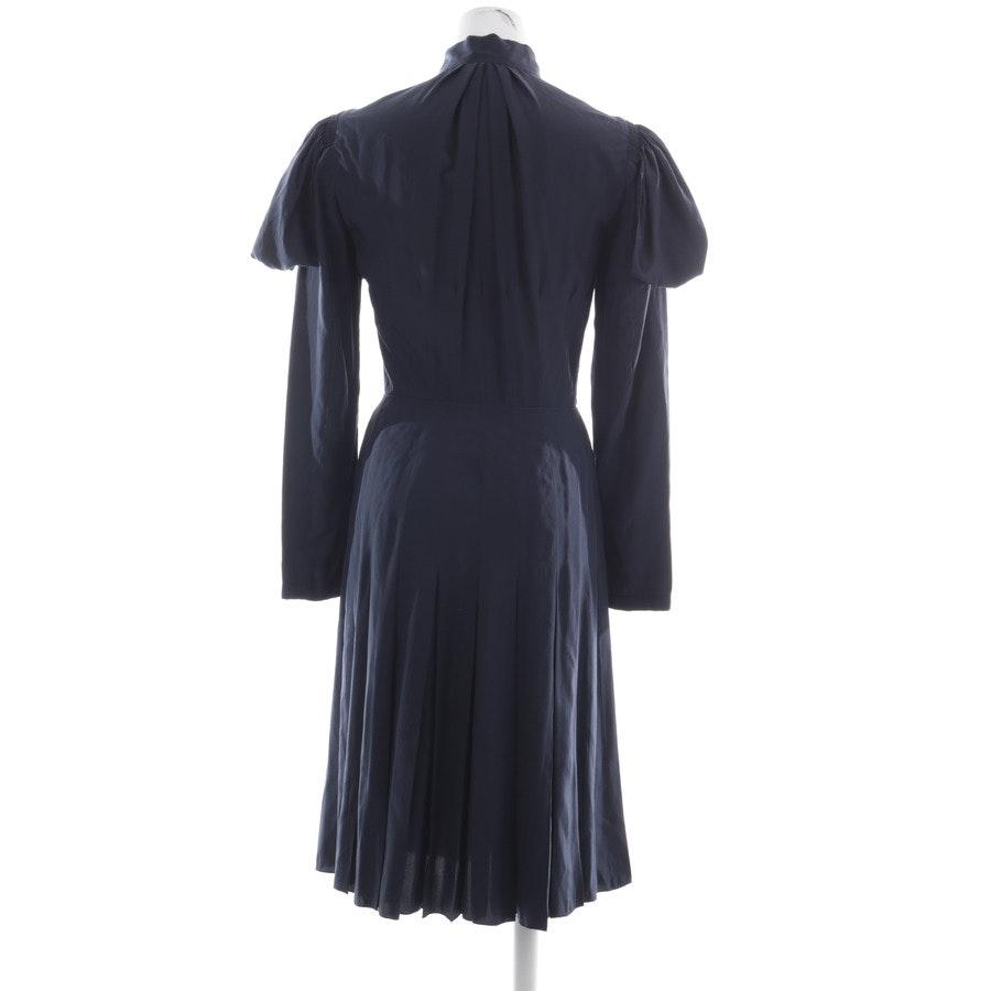 Seidenkleid von Louis Vuitton in Nachtblau Gr. 34 FR 36