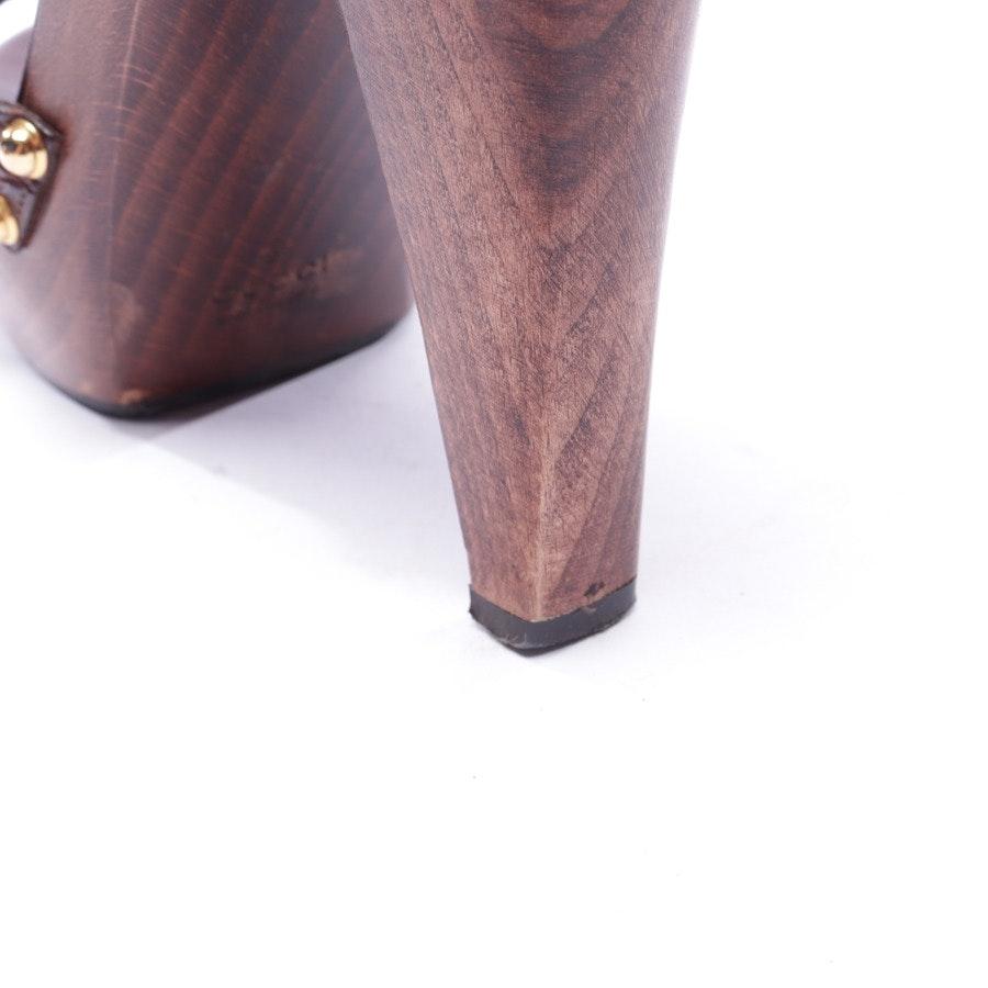 Sandaletten von Gucci in Dunkelbraun Gr. EUR 38,5