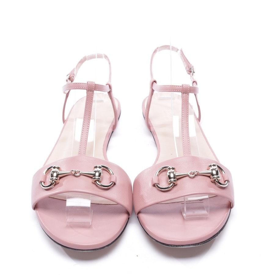 Sandalen von Gucci in Altrosa Gr. EUR 37