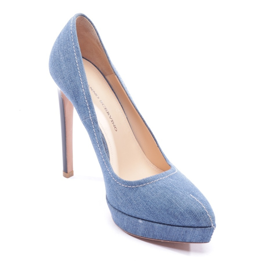 pumps from Ermanno Scervino in medium blue size D 38