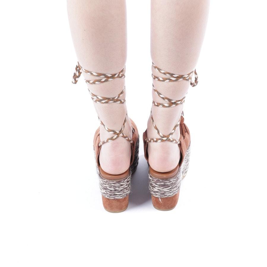 Sandaletten von See by Chloé in Nougat Gr. D 37 - Adele
