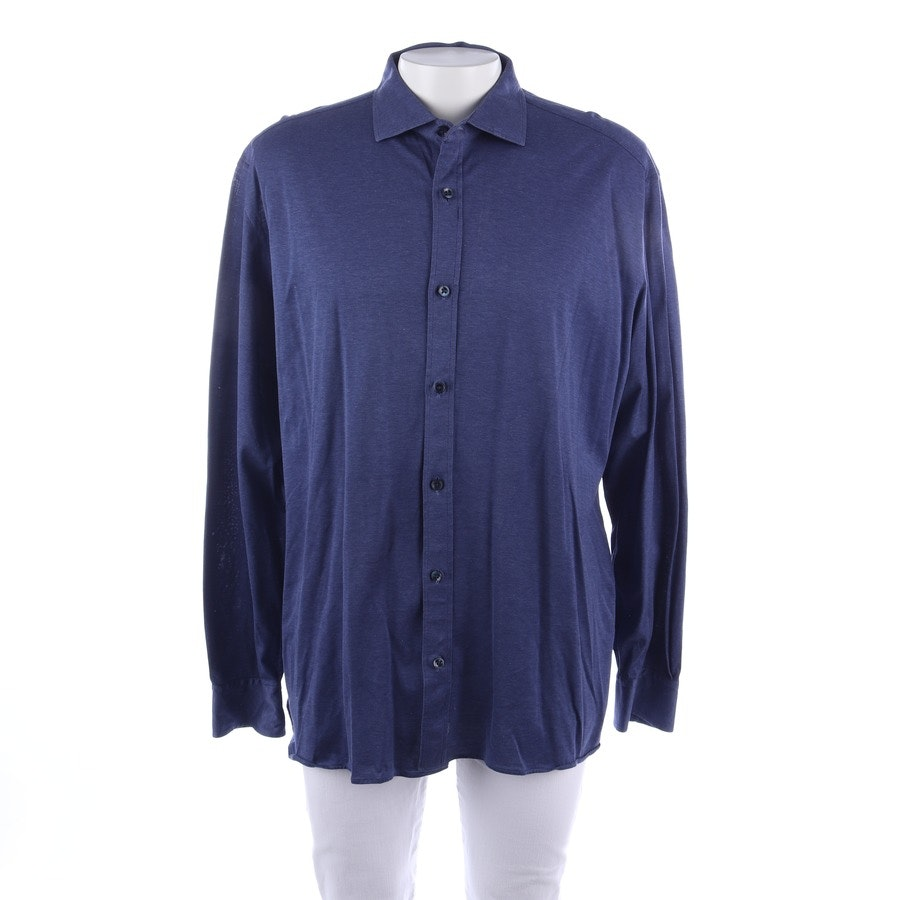 casual shirt from Zegna in blue size 2XL