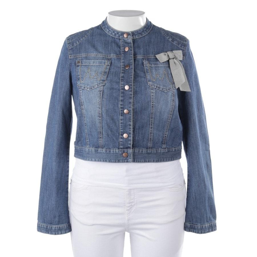 Jeansjacke von Marc Cain in Blau Gr. 42 N5