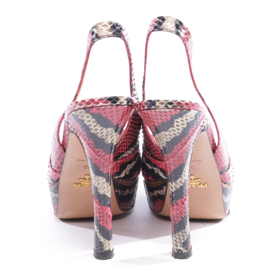 heeled sandals from Prada in multicolor size D 39