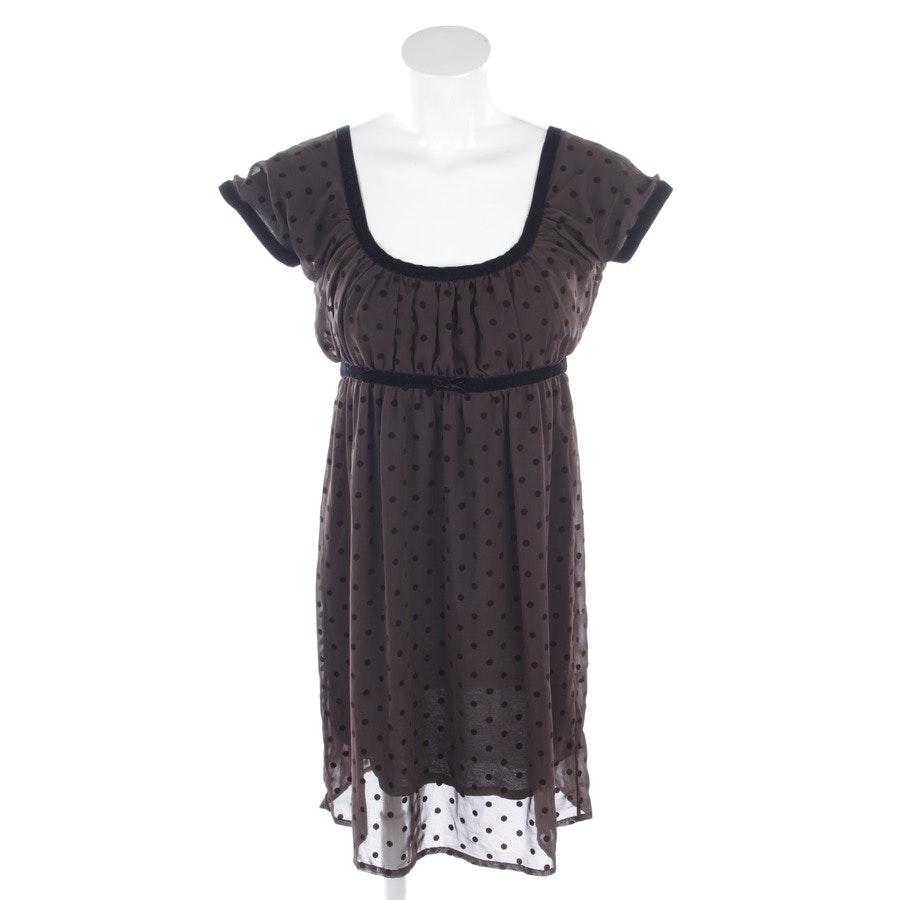 Kleid von Twin Set in Dunkelbraun Gr. M
