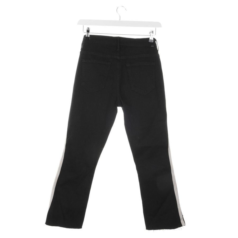 Jeans von Mother in Schwarz und Beige Gr. W29 - Insider Crop Step Fray