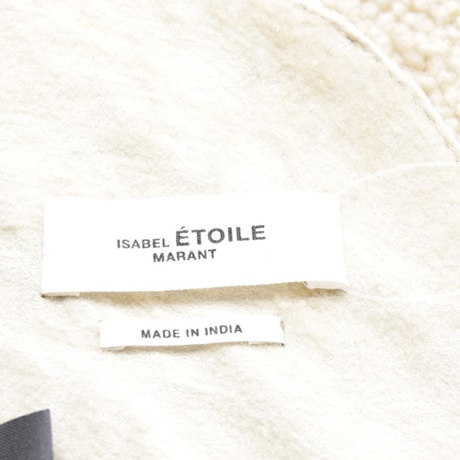 Lammfelljacke von Isabel Marant Étoile in Dunkelbraun und Beige Gr. DE 38 FR 36 - NEU