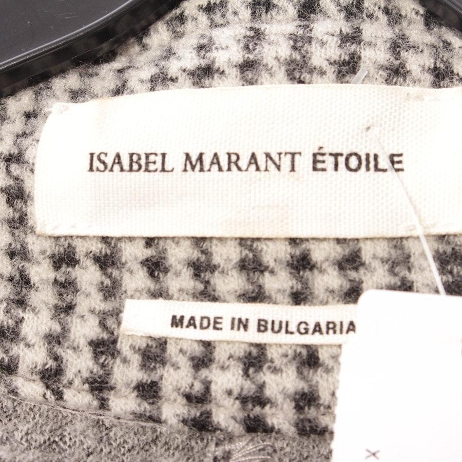 Blazer von Isabel Marant Étoile in Hellgrau und Schwarz Gr. DE 36 FR 38