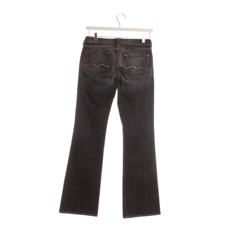 jeans from 7 for all mankind in black size W28
