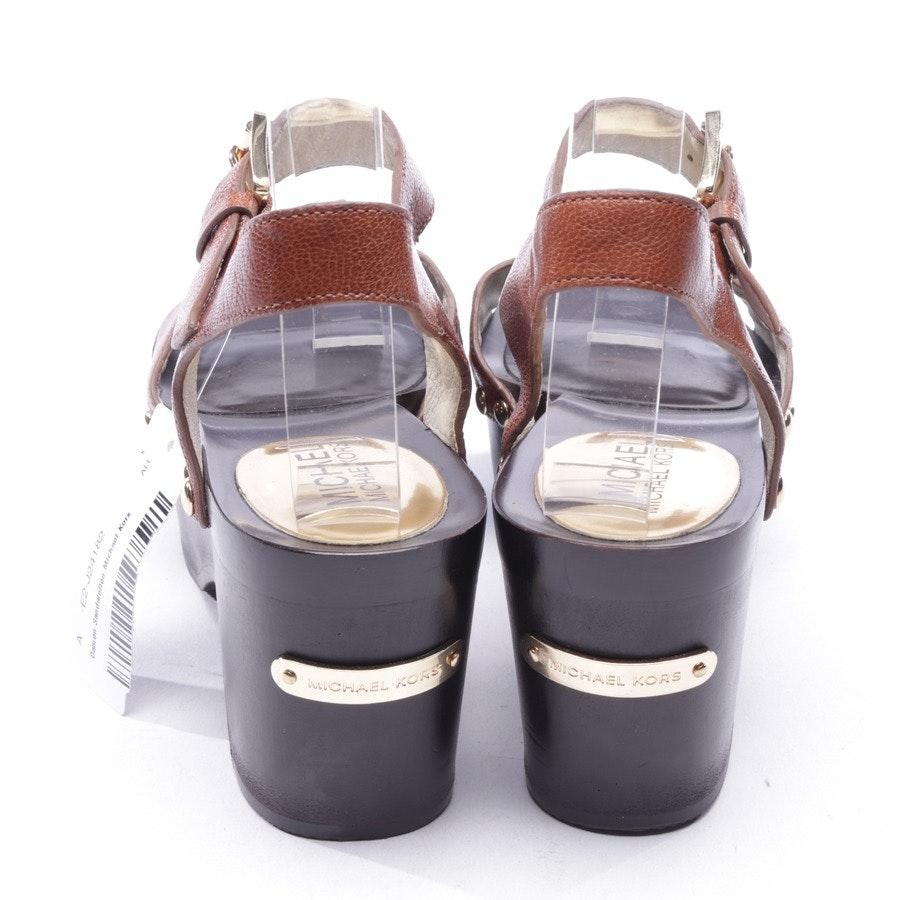 Sandaletten von Michael Kors in Braun Gr. D 36,5 US 6,5