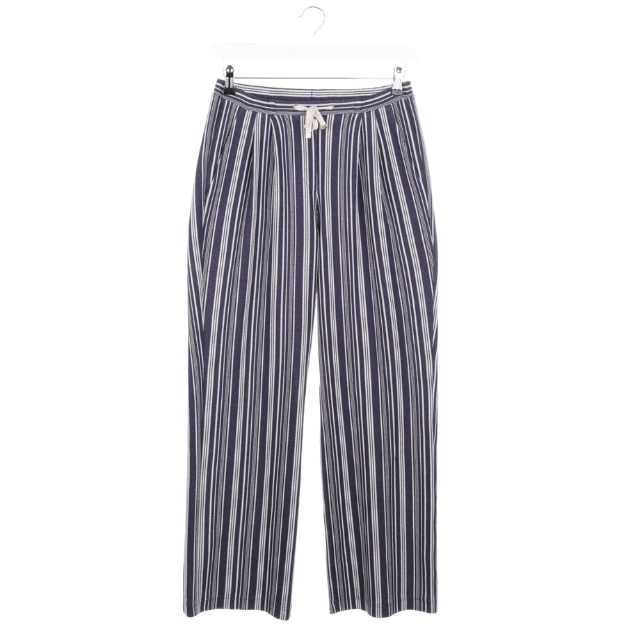 trousers from IVI collection in dark blue and white size 38