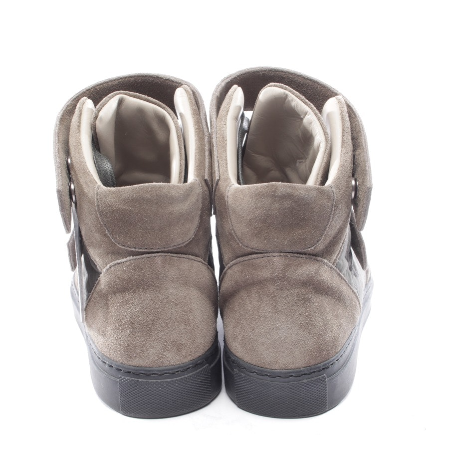 trainers from Brunello Cucinelli in brown and green size D 37