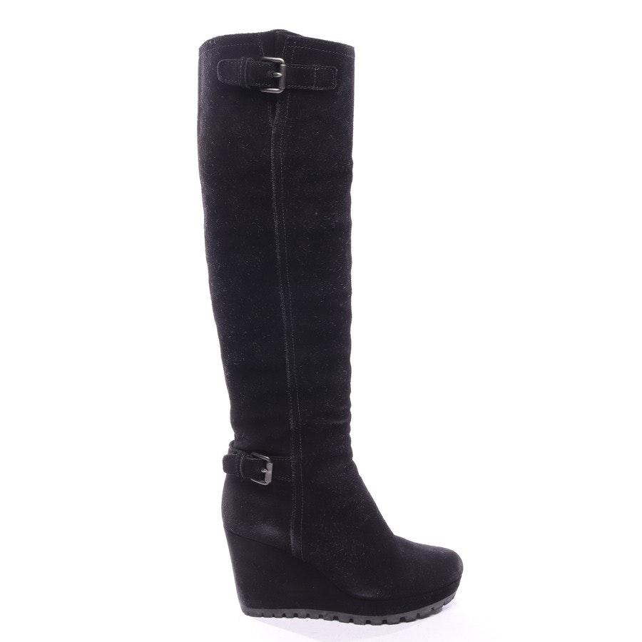 Stiefel von Prada in Schwarz Gr. EUR 37,5