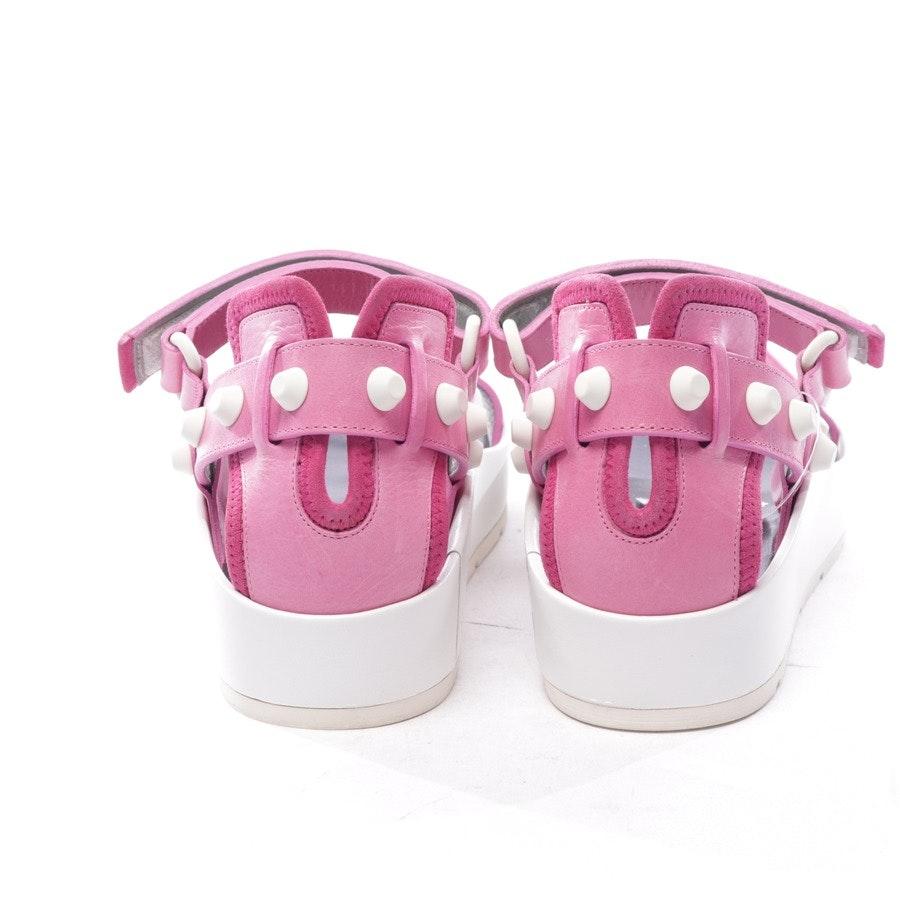 Sandalen von Balenciaga in Rosa und Weiß Gr. D 38 - Neu