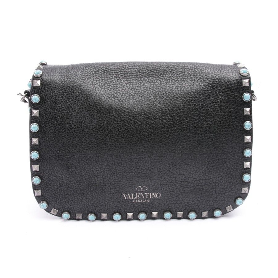 shoulder bag from Valentino in black and multi-coloured - rockstud
