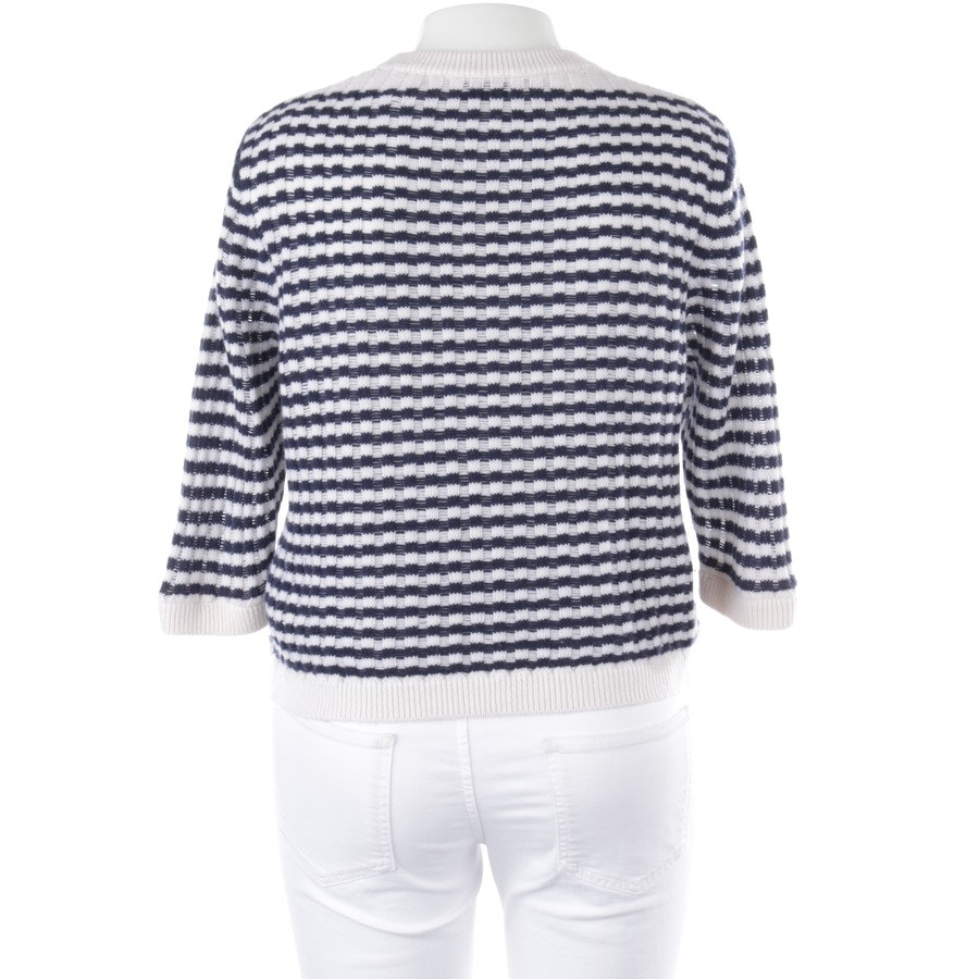 knitwear from Allude in dark blue and white size L