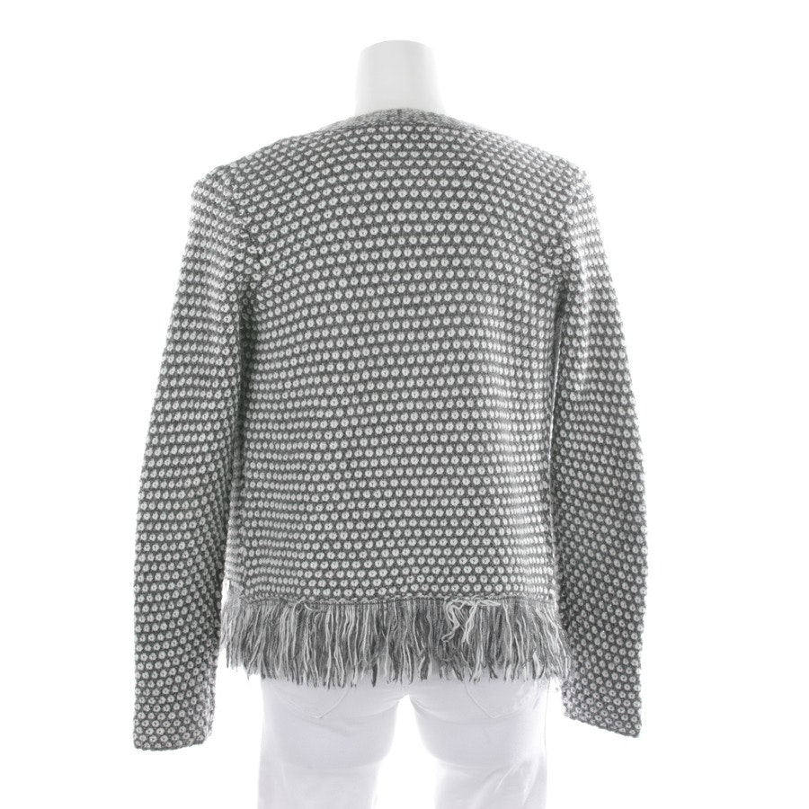 knitwear from Rich & Royal in grey and white size S