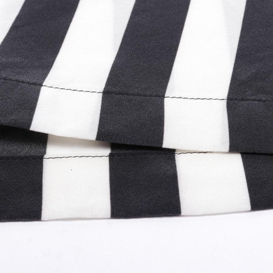 Blusenshirt von Dolce & Gabbana in Cremeweiß und Schwarz Gr. 40 IT 46