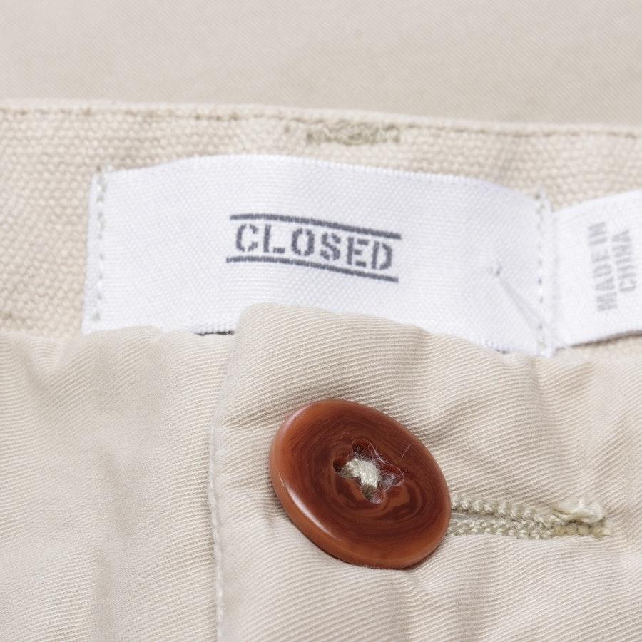 Chino von Closed in Beige Gr. W31 - Neu