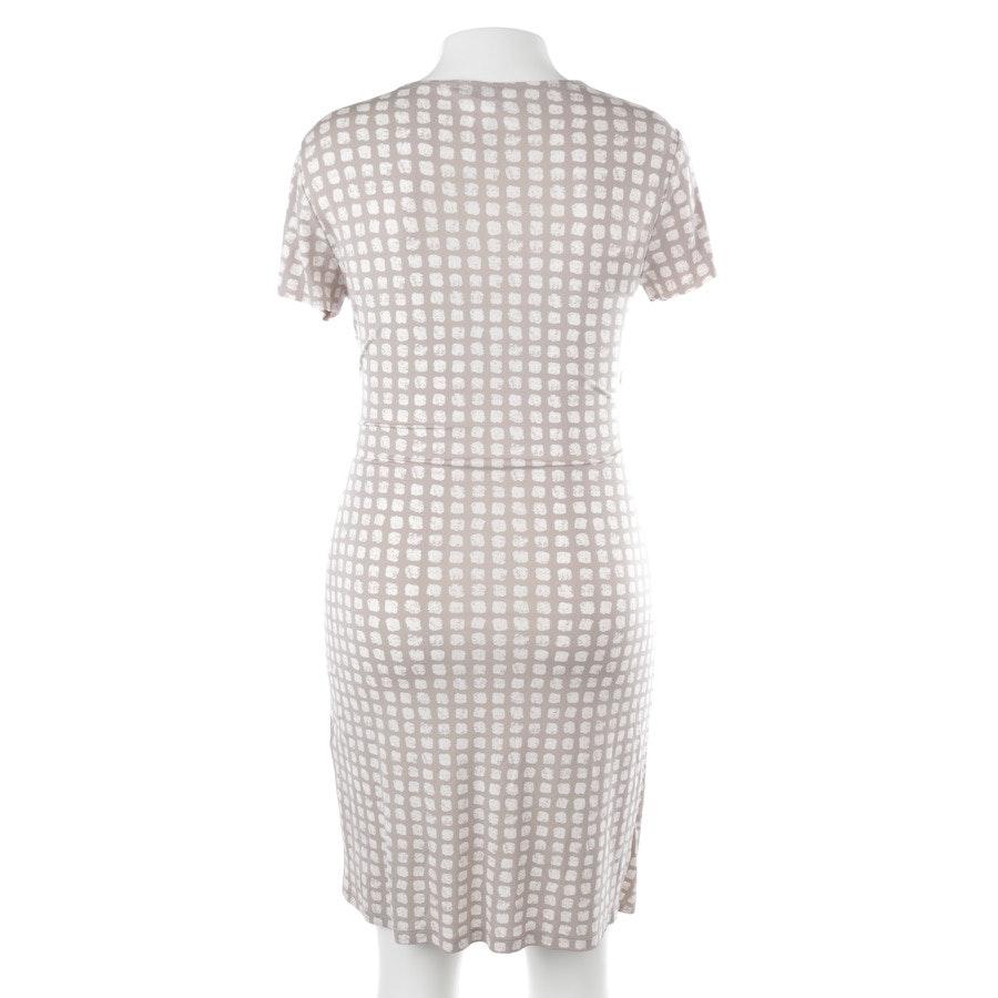 Kleid von Peserico in Offwhite und Grau Gr. 40 IT 46