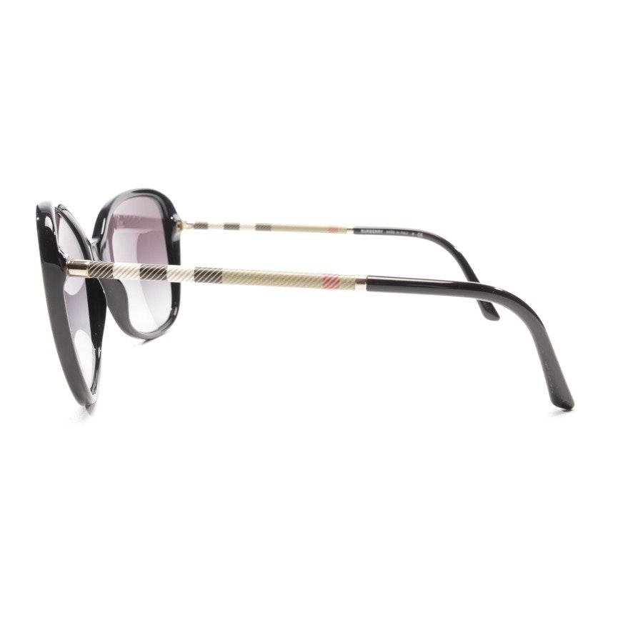 Sonnenbrille von Burberry in Schwarz und Beige - B 4235-Q - Neu