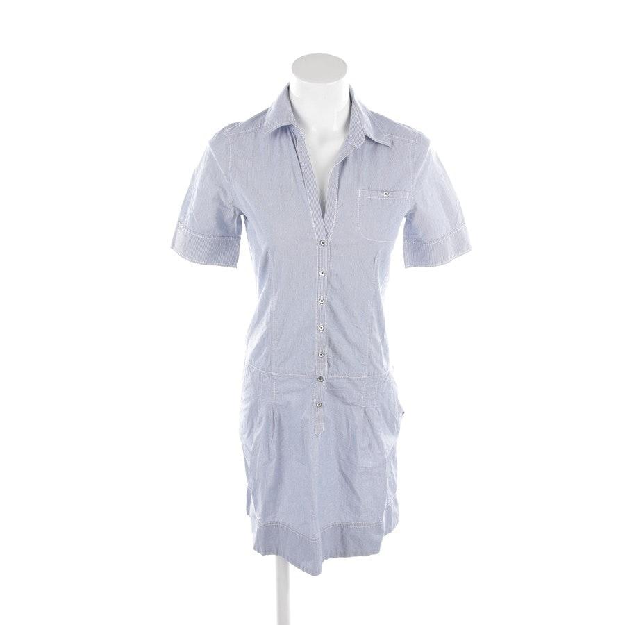 Blusenkleid von Marc O'Polo in Blau und Weiß Gr. 34