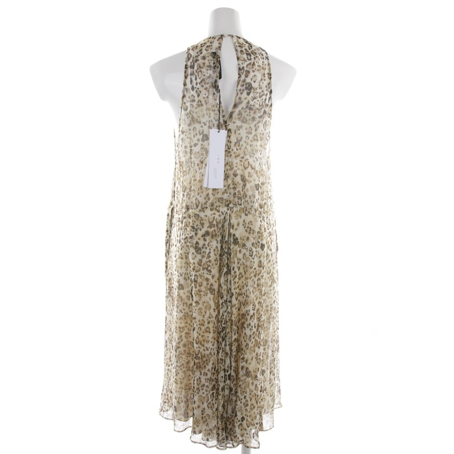 dress from Iro in ecru and multicolor size 36 FR 38 - new
