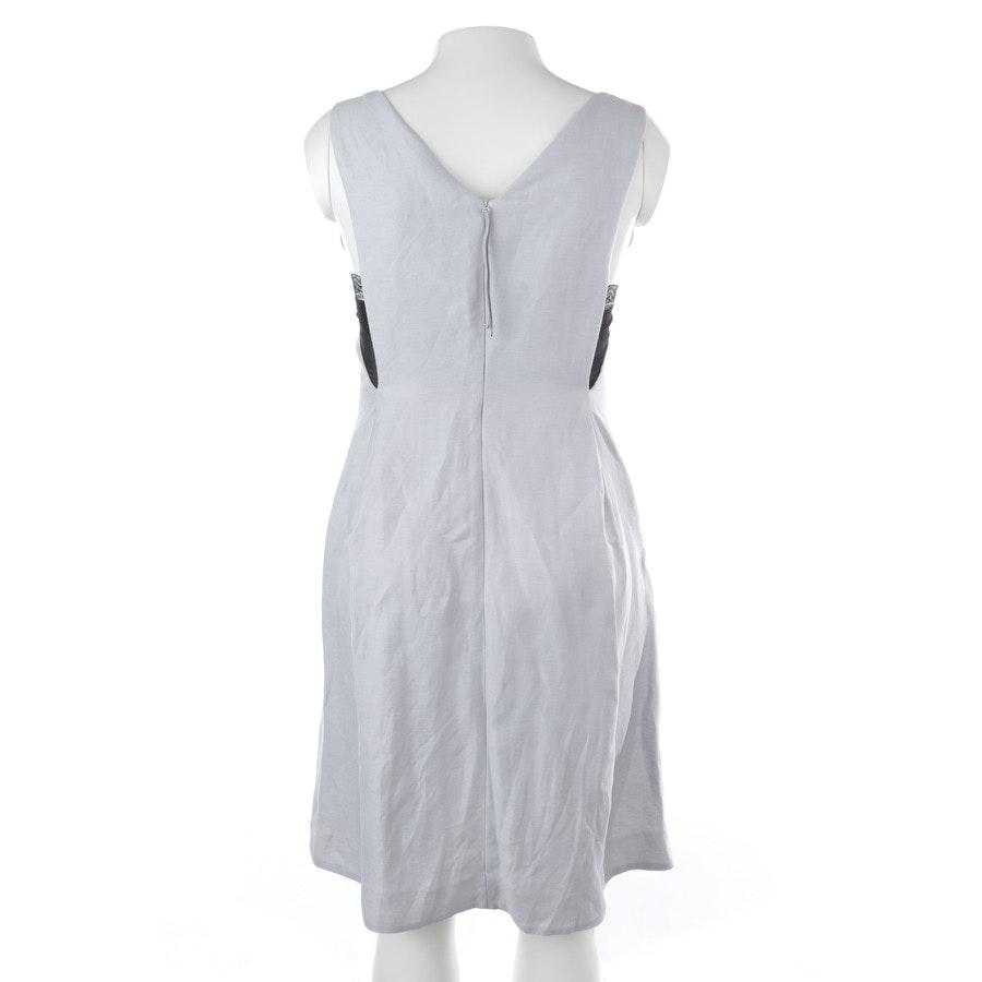 Kleid von Dorothee Schumacher in Hellblau und Schwarz Gr. 40 / 4